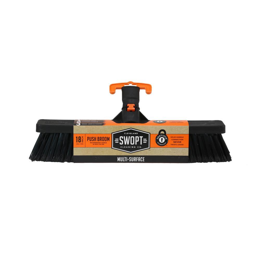 18 in. Standard Multi-Surface Push Broom Head
