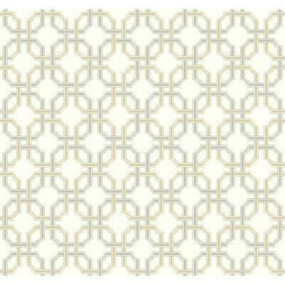 Waverly Classics II Groovy Grill Removable Wallpaper