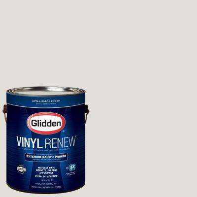 1 gal. #HDGWN48 Toasted White Low-Lustre Exterior Paint with Primer
