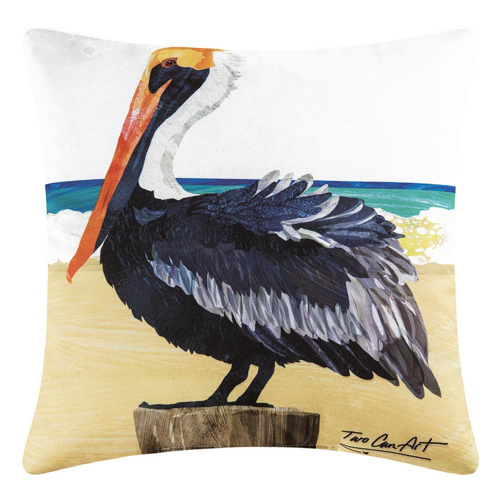 Pelican Tan Standard Pillow