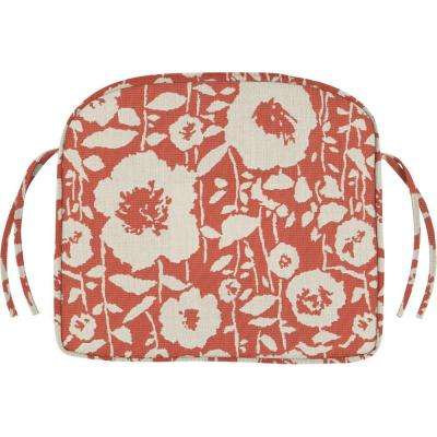 19.5 x 19.5 Outdoor Chair Cushion in Sunbrella Andy Guava