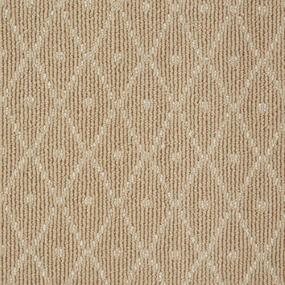 Natural Harmony Merino Diamond Dot Camel Custom Area Rug