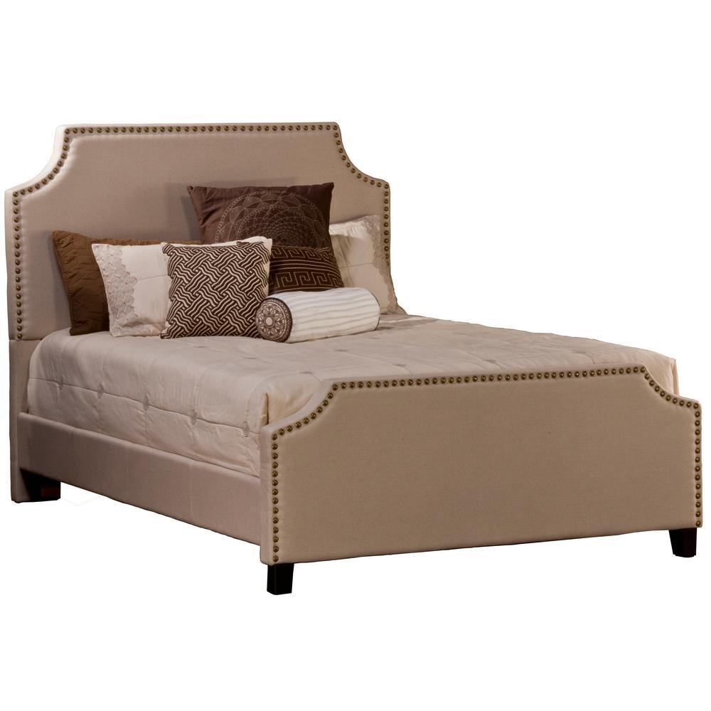 Deckland Ash Velvet Queen Bed