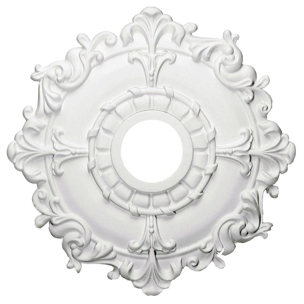 millwork ekena pin classic in ceiling medallion