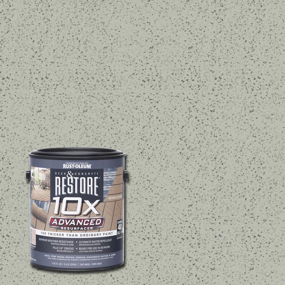 Rust-Oleum Restore 1 gal. 10X Advanced Juniper Deck and Concrete Resurfacer