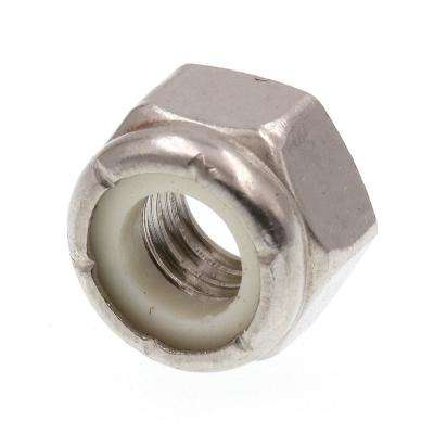 5/16 in.-18 Grade 18-8 Stainless Steel Nylon Insert Lock Nuts (50-Pack)