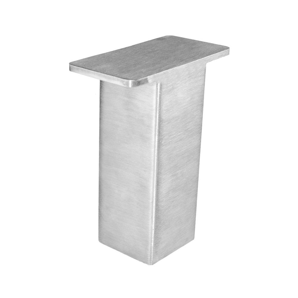 The Plaza 4 in. x 5 in. Stainless Steel Countertop Stand