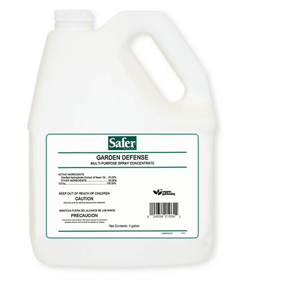 1 Gal. Garden Defense Concentrate Pest Control