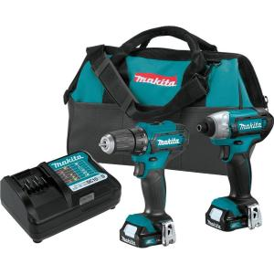 Deals on Makita 1.5 Ah 12-Volt Cordless Drill Driver Combo Kit 2-Piece