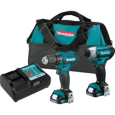 1.5 Ah 12-Volt MAX CXT Lithium-Ion Cordless Drill Driver and Impact Driver Combo Kit  (2-Piece)