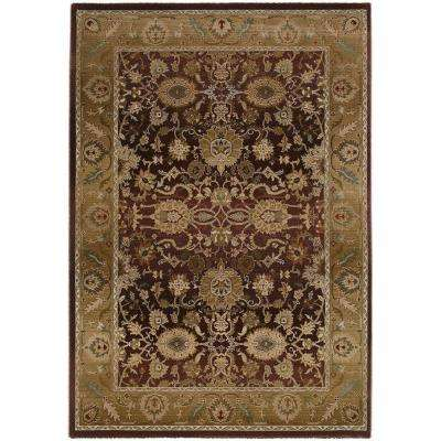 Poise Plum 5 ft. x 8 ft. Area Rug