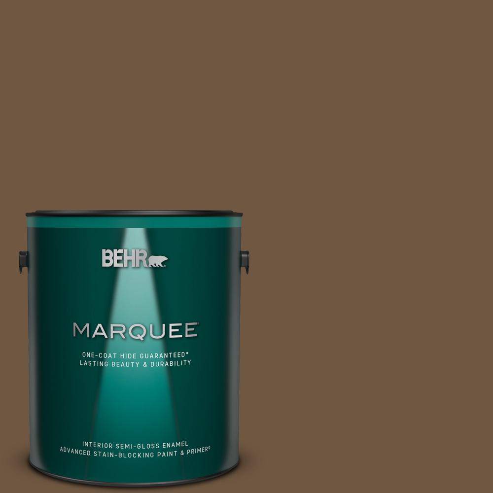 Reviews For Behr Marquee 1 Gal Home Decorators Collection Hdc Fl15 04 Cinnamon Crumble Semi Gloss Enamel Interior Paint Primer 345301 The Home Depot