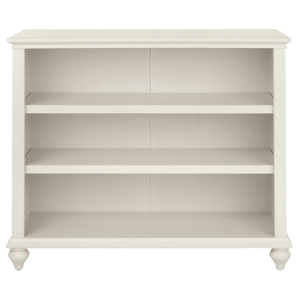 Hamilton 3-Shelf Polar White Open Bookcase