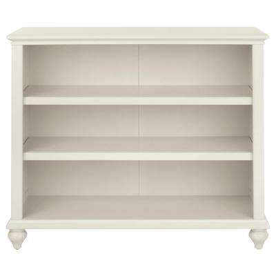 Hamilton Polar White Open Bookcase