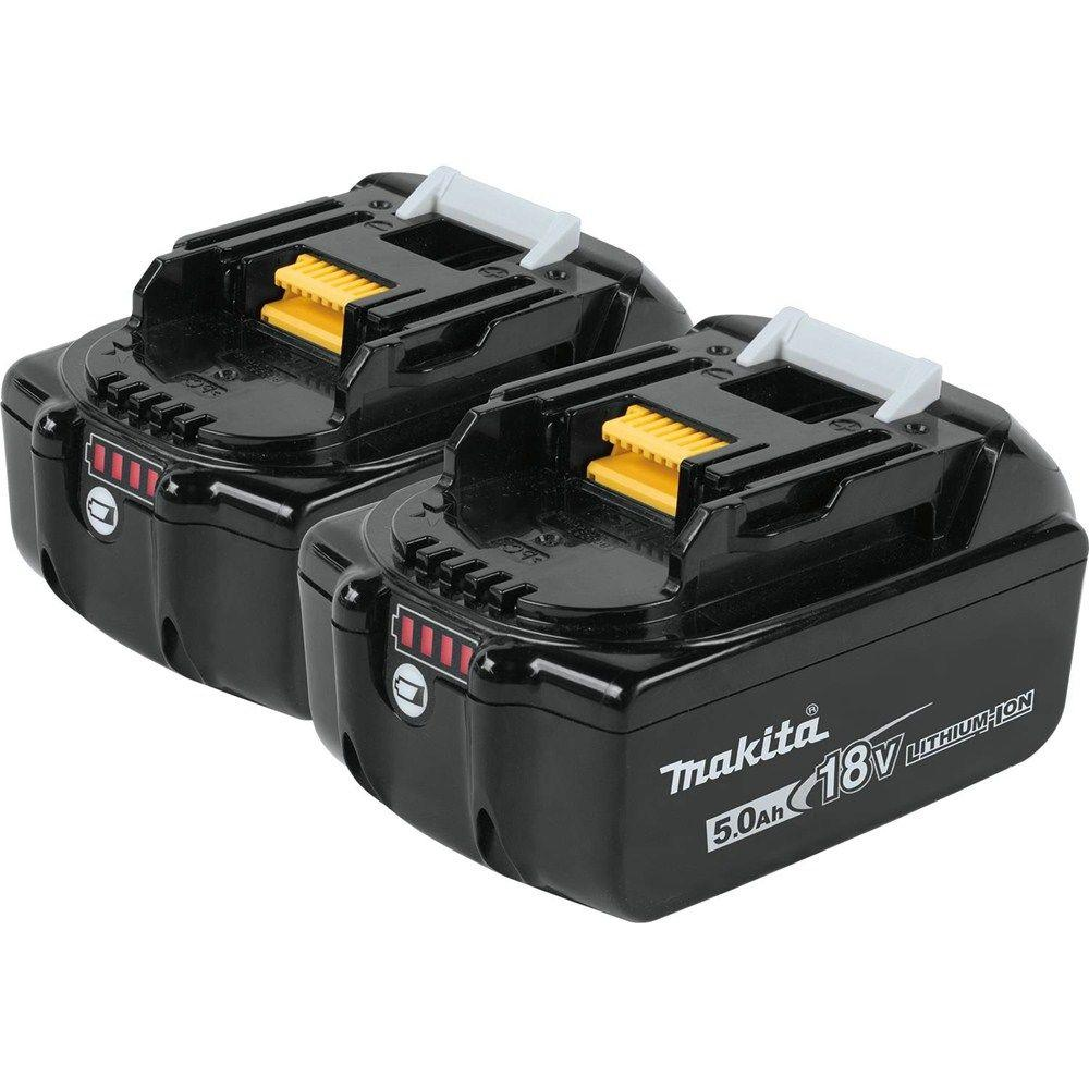 18-Volt LXT Lithium-Ion High Capacity Battery Pack 5.0Ah with LED Charge