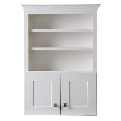 Creeley 27 in. W x 37-7/10 in. H x 9 in. D Bathroom Storage Wall Cabinet in Classic White