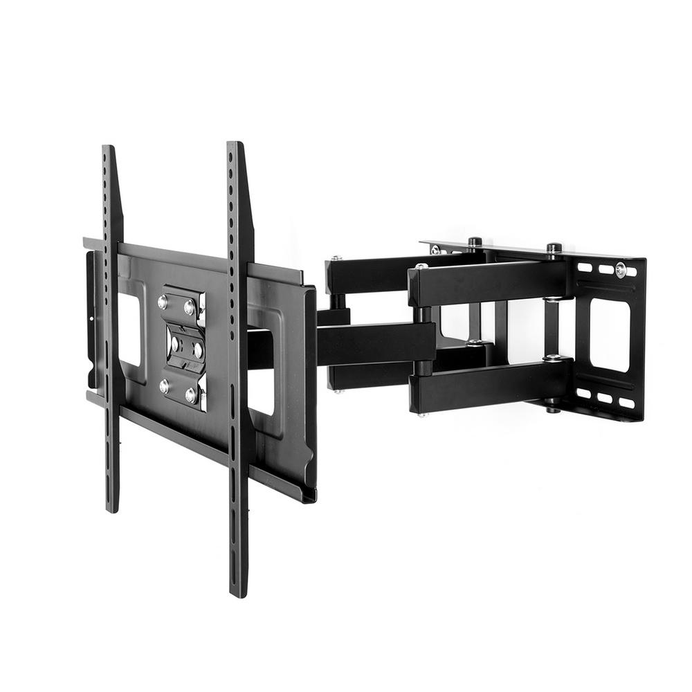 Wall Mount With Tv : Fleximounts full motion articulating tv wall mount bracket