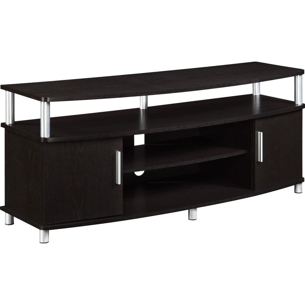 Ameriwood Home Windsor Espresso 50 In Tv Stand Hd79303 The Home Depot