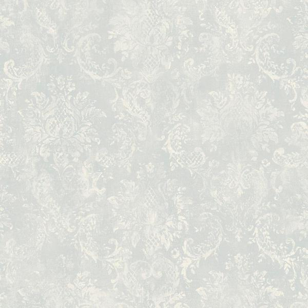 Norwall Canvas Damask Wallpaper SD36105
