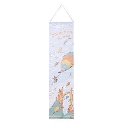 Dr. Seuss Oh, The Places You'll Go Canvas Growth Chart
