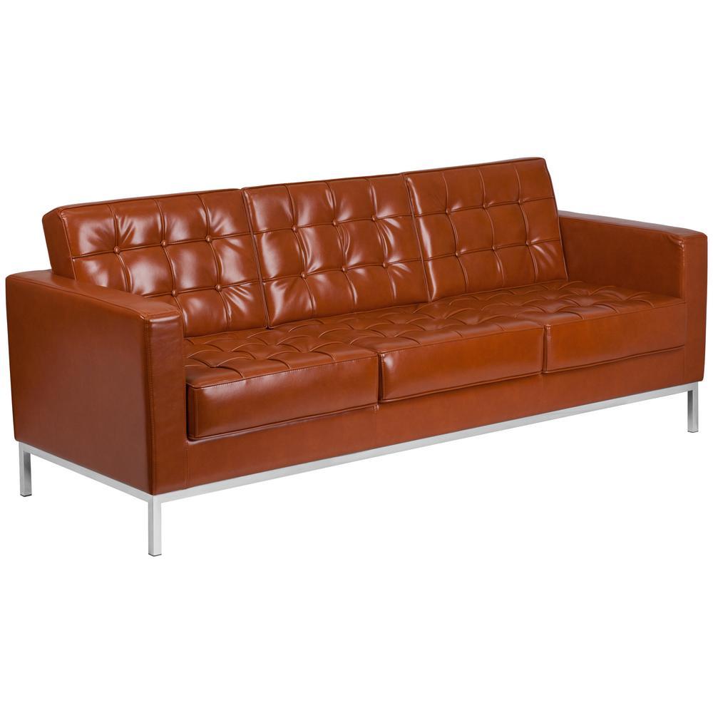Cognac Standard Sofa