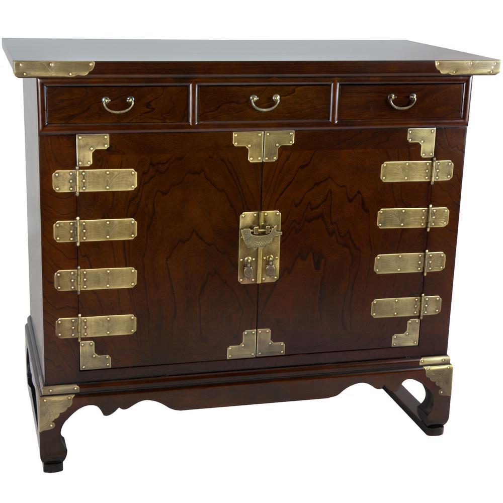 Oriental Furniture Oriental Furniture Walnut Korean Antique Style 3