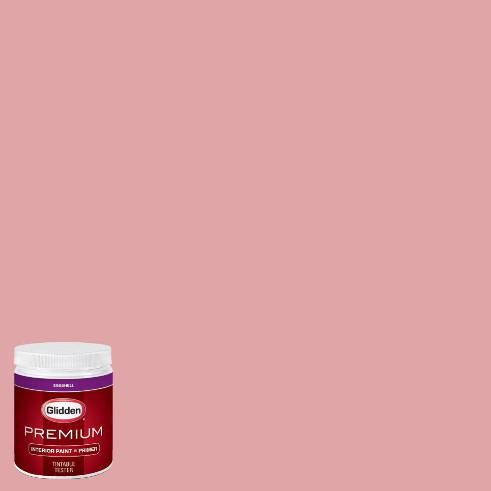 Glidden Premium 8 Oz Hdgr32d Soft French Pink Eggshell Interior Paint With Primer Tester