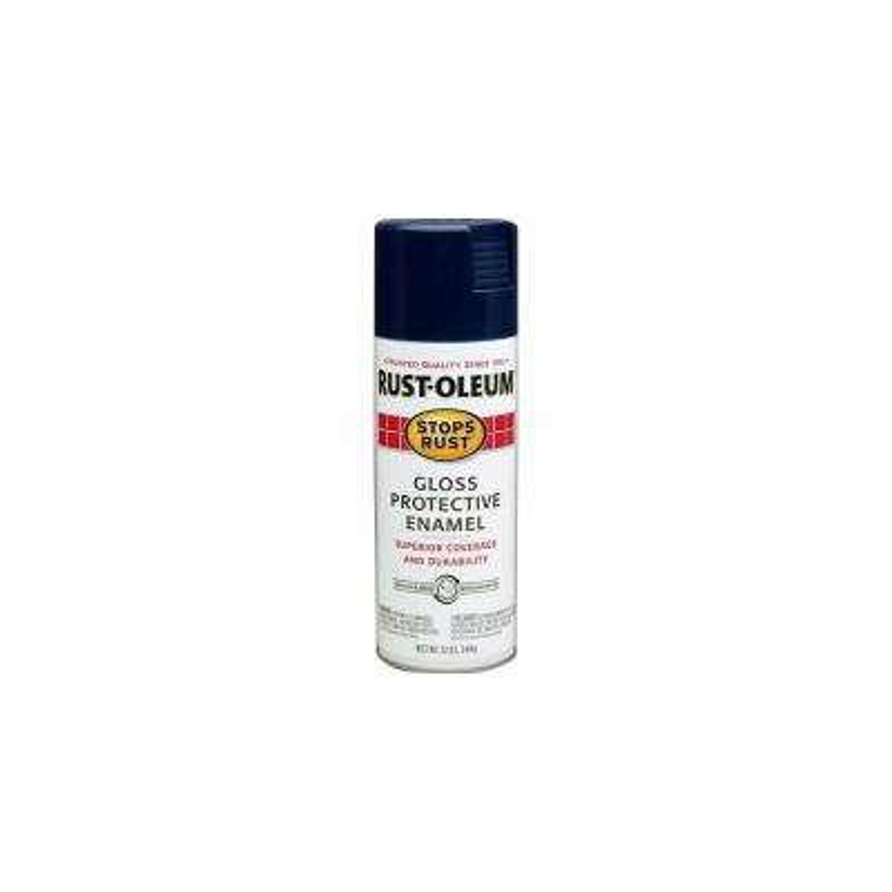12 oz. Protective Enamel Gloss Navy Blue Spray Paint (6-Pack)