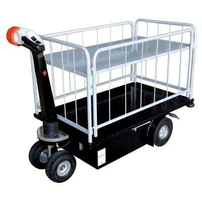 Traction Drive Cart-2 Shelfs-Side Load