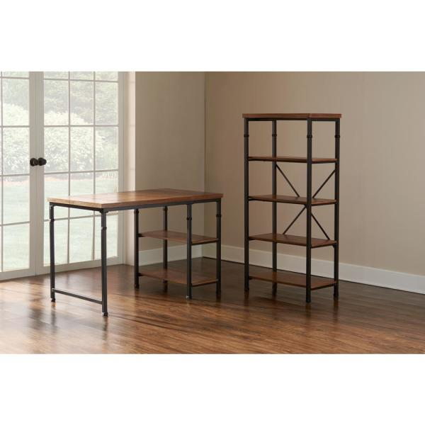 Linon Home Decor Austin Ash Veneer Desk