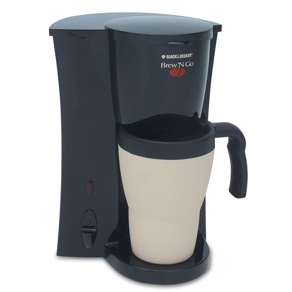 BLACK+DECKER Brew and Go Personal Coffeemaker-DISCONTINUED