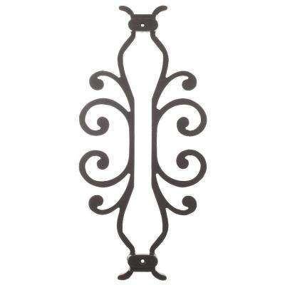 American Heritage 15 in. x 7-5/8 in. Aluminum Charcoal Baluster Centerpiece