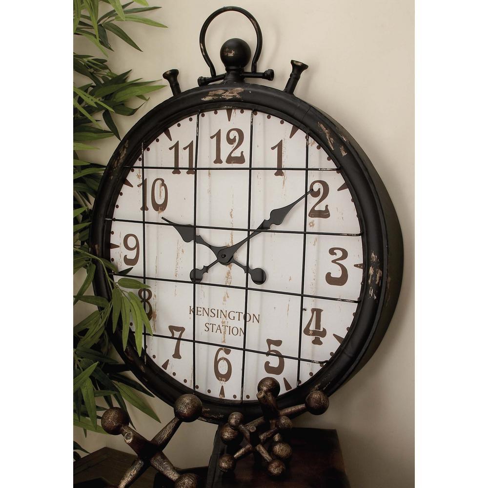 Station Iron Wall Clock