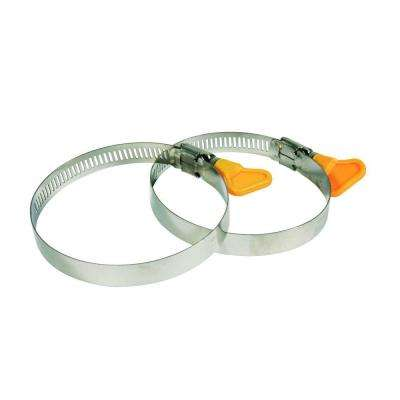 3 in. RV Sewer Hose Twist-IT Clamps (2-Pack)
