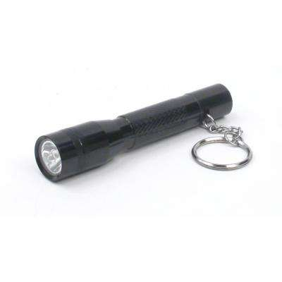1AAA LED Aluminum Keychain Light with Battery
