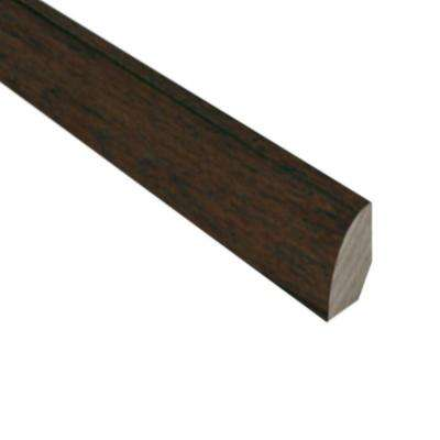 Hickory Chestnut 3/4 in. Thick x 3/4 in. Wide x 78 in. Length Hardwood Quarter-Round Molding