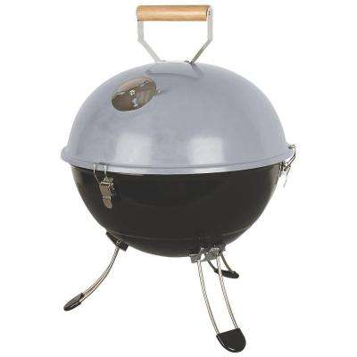 Party Ball Portable Charcoal Grill in Gray