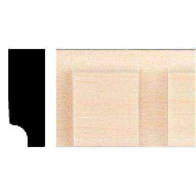 3/8 in. x 1 in. x 8 ft. Hardwood Dentil Panel Moulding