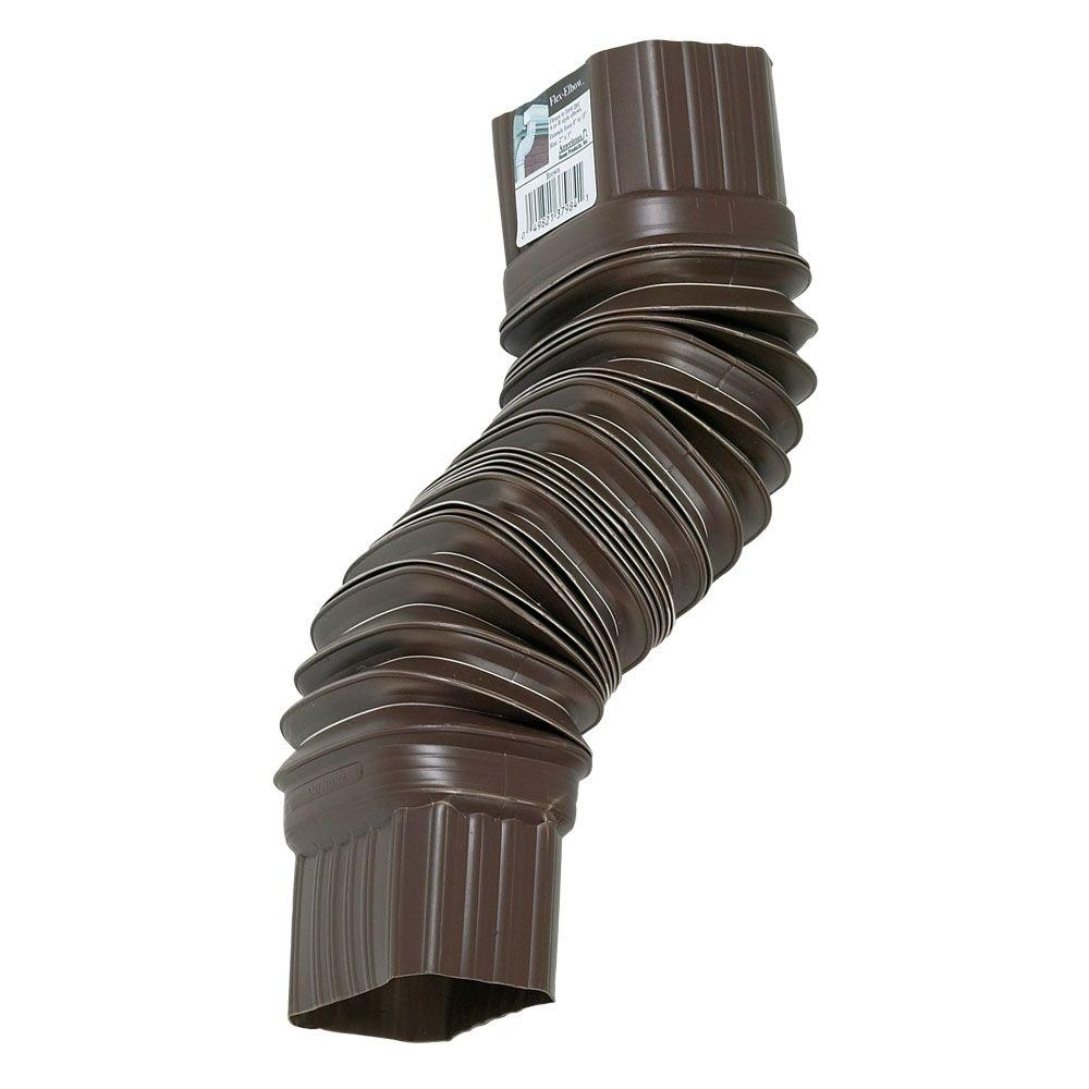 Amerimax Home Products Brown Flex-Elbow