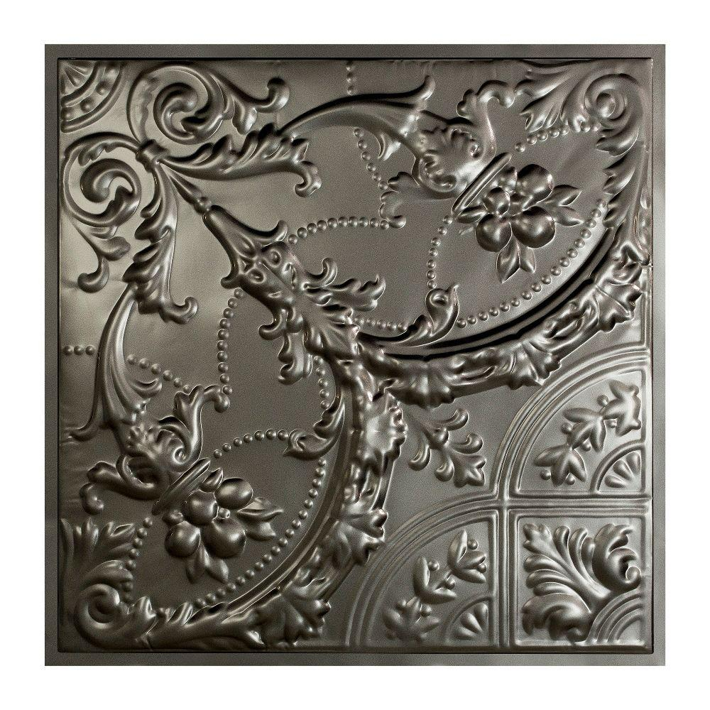 Great lakes tin saginaw 2 ft x 2 ft lay in tin ceiling tile in great lakes tin saginaw 2 ft x 2 ft lay in tin ceiling dailygadgetfo Images