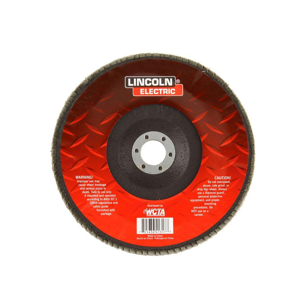 7 in. 80-Grit Flap Disc