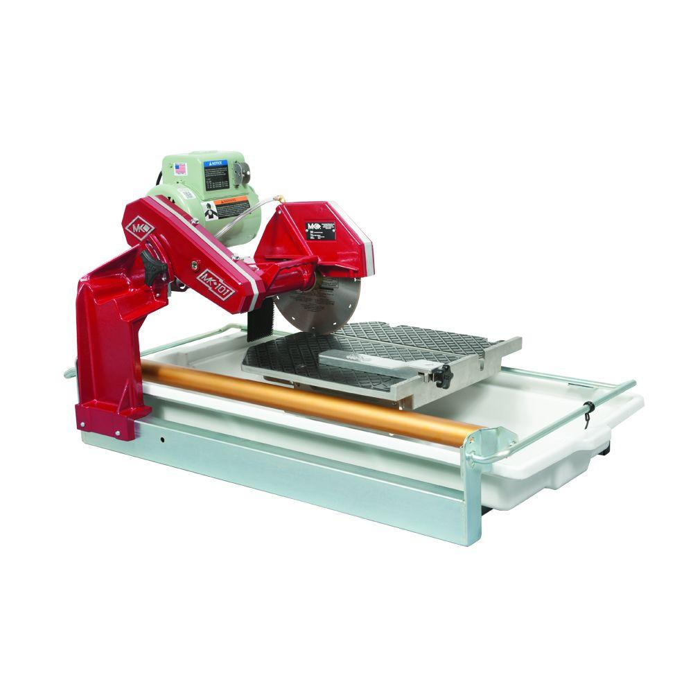 Mk Diamond 101 24 1 5 Hp Wet Tile Saw