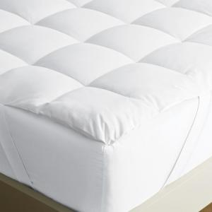 LoftAIRE 1.5 in. King Down Alternative Hypoallergenic Mattress Topper