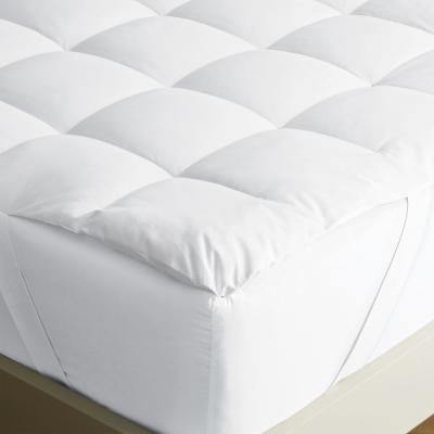 LoftAIRE 1.5 in. Queen Down Alternative Hypoallergenic Mattress Topper