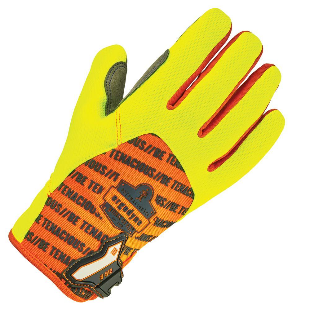 Large Lime Standard Utility Gloves