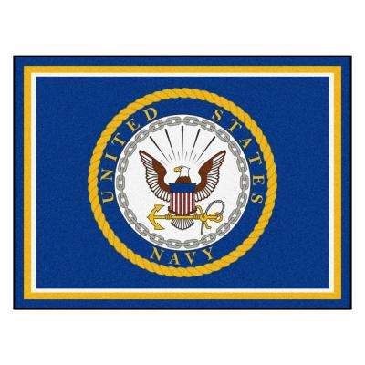 U.S. Navy Ultra Plush 8 ft. x 10 ft. Area Rug