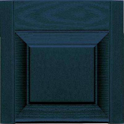 15 in. x 12 in. Midnight Blue Transom Tops Pair #166