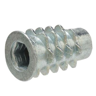 1/4 in. x 20 mm Type D Zinc Insert Nut Screw