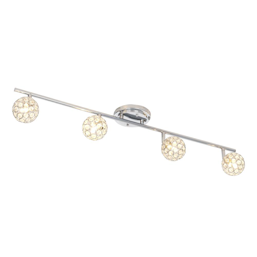 Alsy 3 ft. 4-Light Chrome Fixed Track Lighting Kit Bar-20556-000 - The Home Depot  sc 1 st  The Home Depot & Alsy 3 ft. 4-Light Chrome Fixed Track Lighting Kit Bar-20556-000 ... azcodes.com