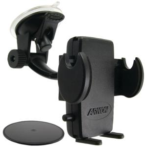 ARKON Replacement Upgrade or Additional Windshield Dashboard Sticky Suction Mount for Dual T Holders Black Retail Packaging